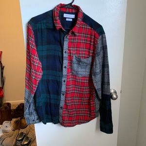 Urban Outfitters Patchwork Flannel